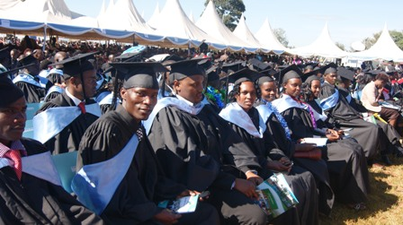 1st Graduands of UoK