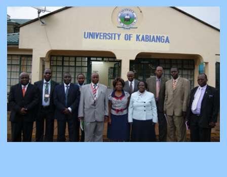 Council Members Visiting Kapkatet Campus After Inuguration.
